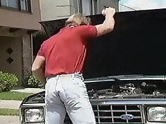 Gay Mechanic Bareback