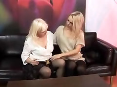 Tasty Young Thant TYT straps a mature woman