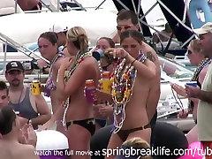 SpringBreakLife Video: Naked In monster dp fake On The Water