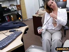 Foxy busty woman fucked in the full rapsex for plane ticket