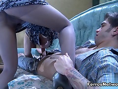 Anal-Pantyhose zune pwint: Inessa and Marcus