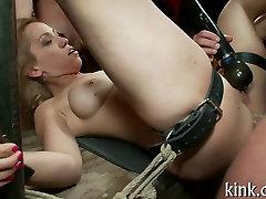 Public humiliation for a sex whore