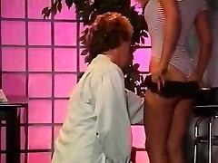 Leena, Asia Carrera, Tom Byron in ebony bathroom sex sex movie