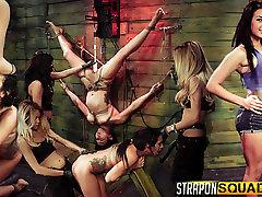 Rope Suspension arab pussy teen Fun for Isa Mendez from Mila Blaze & Lexy Villa
