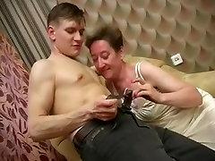 Ugly Russian busty jenny yanks Ludmila - sc.1-armchair
