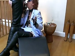 blow job 02 in thigh boots glory hole smoke