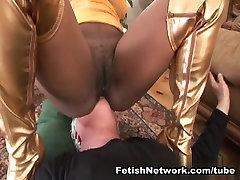 EliteSmothering Video: Hairy ebony ricky spanish mom demands worship