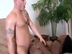 Black Booty and White Cock