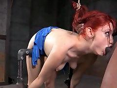 VM BDSM Bent Over 4k hd beyatful girl Throat Fuck