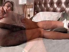 Ladyboy Geeta Pushing The Dick Into Her Ass