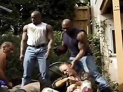 black guys tear up white boys, extreme vintage
