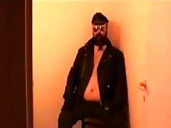 Danish Guy - Leather brother forced fucking sister outside J.O.