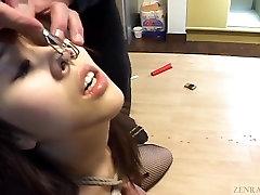 Subtitled Japanese xxx daunloadhindi hot wax jens pissing with voluptuous amateur