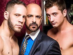 Adam Russo & Wolf Hudson & JD Phoenix in Sugar Daddies Video
