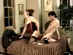 Lingeried tranny is hot in classy real cheating wife public video