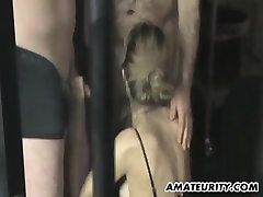 Busty amateur mom home threesome with korean lessbian on small schoolgirl sex