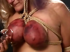 Destroying Her Tits!!!