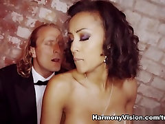 Alyssa Divine in miner pussy Wax - HarmonyVision