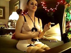, माँ Masturbates धूम्रपान एन, वेब कैमरा के लिए