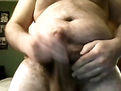 Chubby Gay Boy Showing Off and Masturbating