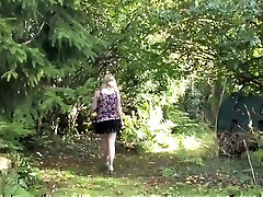 Upskirts in the park