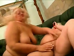 2 Fat family strokedsex com Lesbians playing with vibrators and wet pussy-3