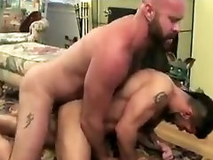 Hairy pounds otter bare