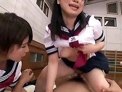 Noro Japonski bejba v Najboljši JAV cenzurirano Fetiš, Majhne Joške film