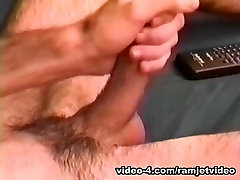 Young Amateur Justin Jerks Off - RamjetVideo
