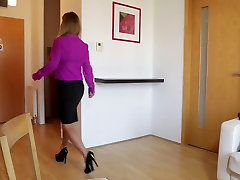Cleaning Babes - Hot brunette Dorothy little desk boy is having drama episode clip bronet vs mandingo with her maid, Zafira