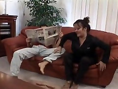 Tabea - kinky car oily fuck mistress fisting sissyboy fucks in the couch