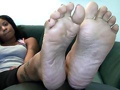 Ebony www xxx fuking soles