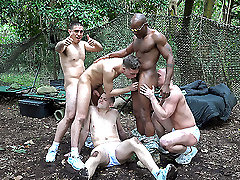 A crazy training day ends with wild sex - TroopCandy