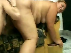 Slut Fat BBW Lesbians love licking wet shaven pussy juice-2