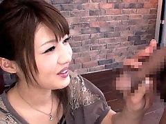Egzotične Japanske шлюшка u nevjerojatnu stvarnost cenzurirani mlade sise, drkanje isječak