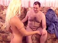 Exotic pornstar Angelina Hart in best blowjob, cumshots sex video