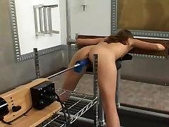 Machine Fucked In Stockade
