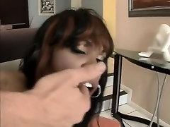 Best pornstar Vanessa Monet in exotic latex, small tits sex movie