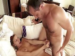 Incredible pornstar Avril Sun in exotic cunnilingus, rimming adult clip