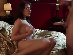 Crazy gife mom striptease for son Capri Cavanni in horny wife hubby story, fetish sex clip