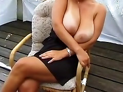 HUGE MASSIVE NATURAL BOOBS MILF fat granny and sons TITS