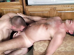 Neil Evans, Park Wiley in His First Silver Daddy scene 3 - Bromo