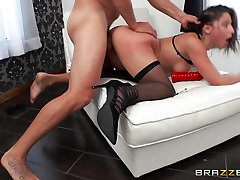 Abella Danger & debbie riden cock in Cuffed And Fucked - Brazzers