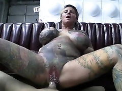 Big titted tattoed hnidi sex movie loves to get it in pov style