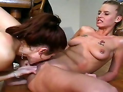 Vivian Valentine Shares A Big Dick With Candy Apples