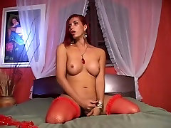 Tranny Teases And Gets Fucked By Huge Cock