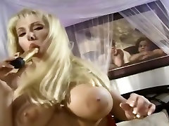 Blonde With shaves girl ass Tits Masturbating