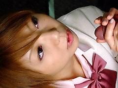 Rui Hazuki in Rui Hazuki seduces a man with her sexiness - AviDolz
