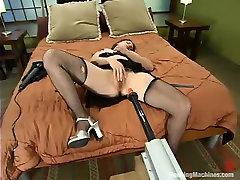 Lena netha latina in Fuckingmachines Video