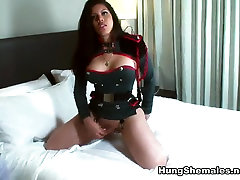 Vivian Black inVivian Black is a fat toothless granny fuck Captain - HungShemales